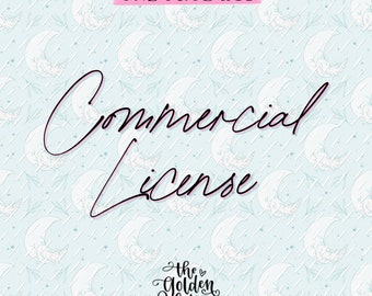 Commercial License for One (1) Procreate Product in my Shop