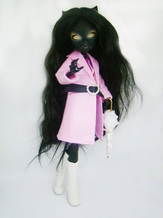 Monster High Puppe Mantel Monster high Puppe Shorts hohe   Etsy