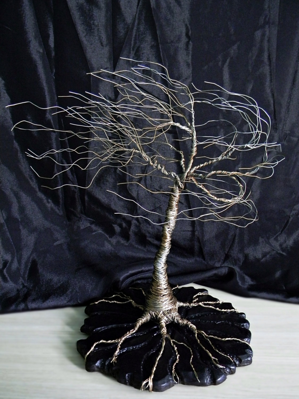 Tolle Baum Des Lebens Draht Skulptur Ideen - Elektrische Schaltplan ...