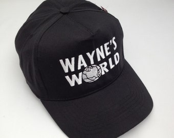 a3b3b78e Wayne's World Embroidered Party Baseball Cap, hat