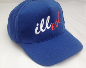 illest Embroidered Baseball Cap e211e70c3469