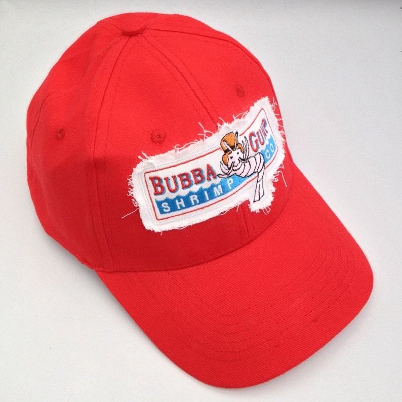 d04fffa5a0fbe Bubba Gump Shrimp embroidered baseball Cap Red
