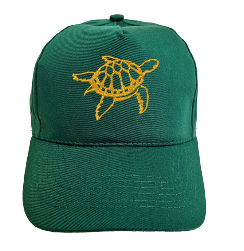 8. Turtle Embroidered Baseball Cap Hat in 9 Colours