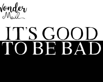 PREORDER July WonderMail: It's Good to be Bad