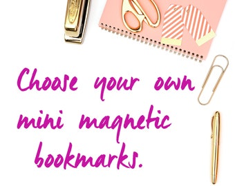 Choose Your Own Mini Magnetic Bookmarks