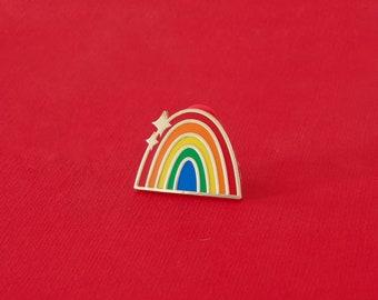 Traditional Rainbow Enamel Pin