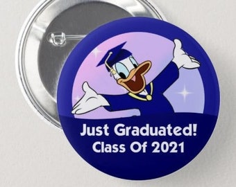 Donald Duck Button Donald Duck Badge Disney Park Pin Button Mickey Money Badge Disney Vacation Button Most Expensive Day Ever