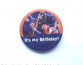 "Disney Pixar Coco ""It's My Birthday!"" Disney Parks Inspired Celebration Button/Pin/Badge"