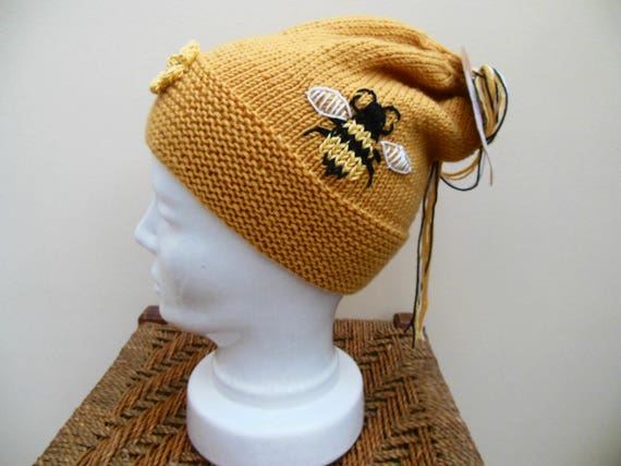 Save The Bees Beanie Hats Cap Mens/&Womens Serious Style Skull Cap Slouchy Beanie Hat