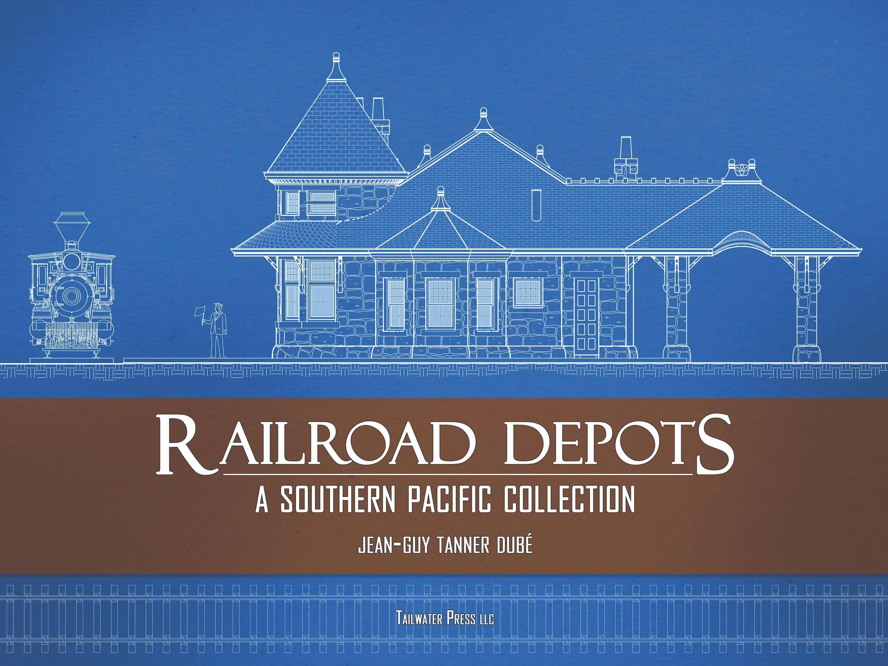 NEW BOOK Railroad Depots A Southern Pacific | Etsy
