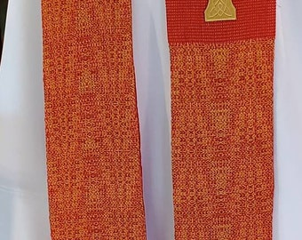 Tongues of Flame Clergy Stole