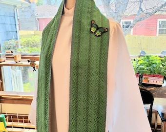 """Earth Day Clergy Stole """"For the Beauty of the Earth"""""""
