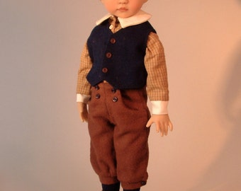 1905 School Boy & Girl Outfits for Little Darling