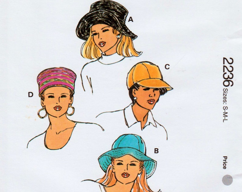 9a876f680ac Womens Hat Pattern Bucket Hat Pattern Sun Hat Pattern Baseball