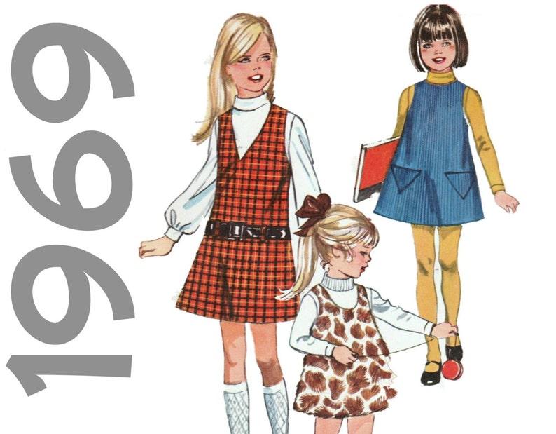 c7c6e0df7 Girls Jumper Pattern Simplicity 8372 girls sz 5 Mod Jumper