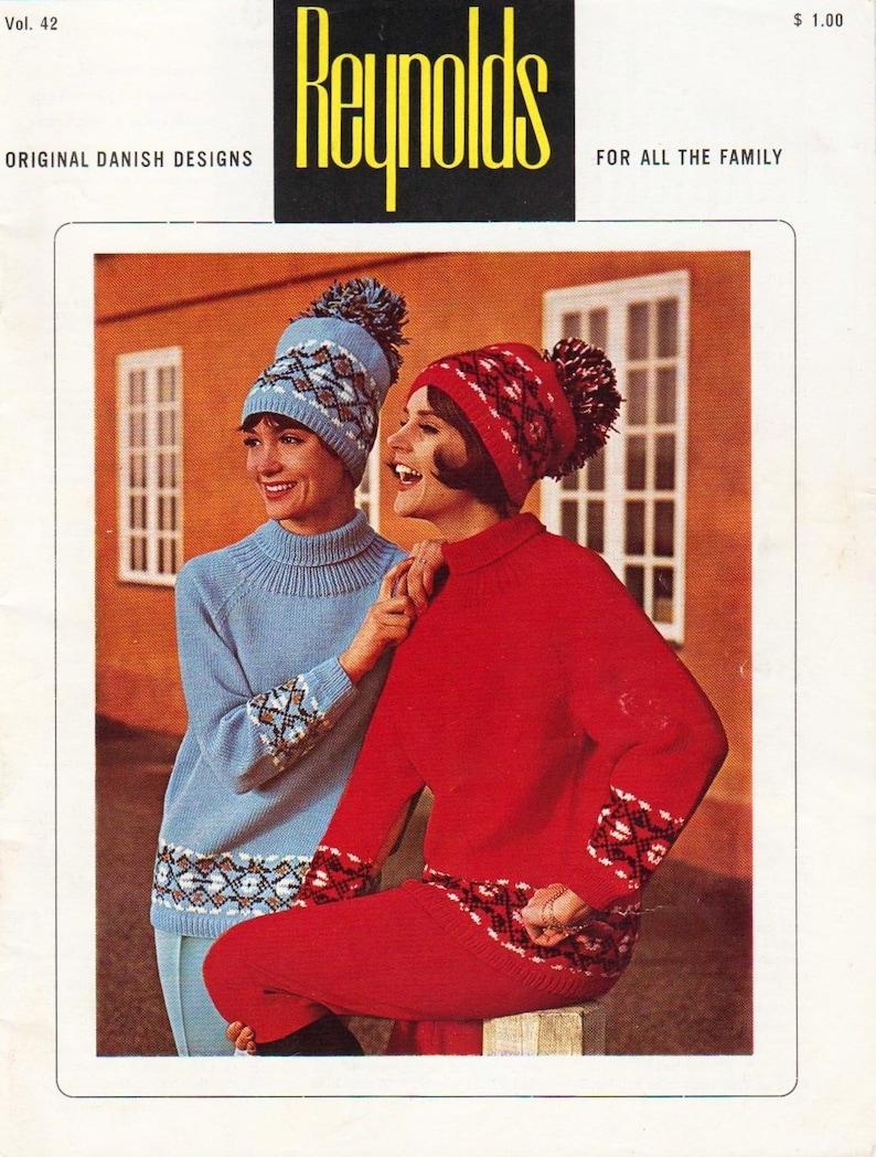ddbd94100c7d Reynolds Knitting Book 42 PDF DIGITAL DOWNLOAD Vintage
