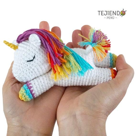 ▷ 9 Tutoriales de UNICORNIOS TEJIDOS a crochet   9️⃣🦄   568x570