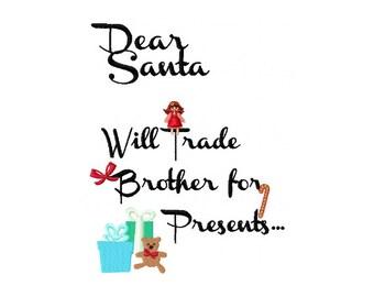 Wird Handel Schwester Für Geschenke Weihnachten Stickerei Etsy
