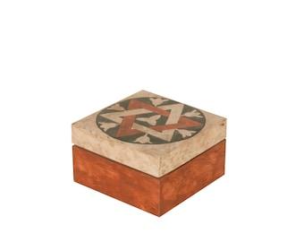 Florentine square box