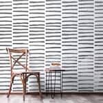 Double Stripe Allover Wall Stencil