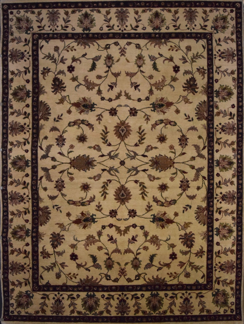 Beautiful Hand Knotted One Of The Kind Oriental Rug Oshack Size 9 0 X 12 0 Ft