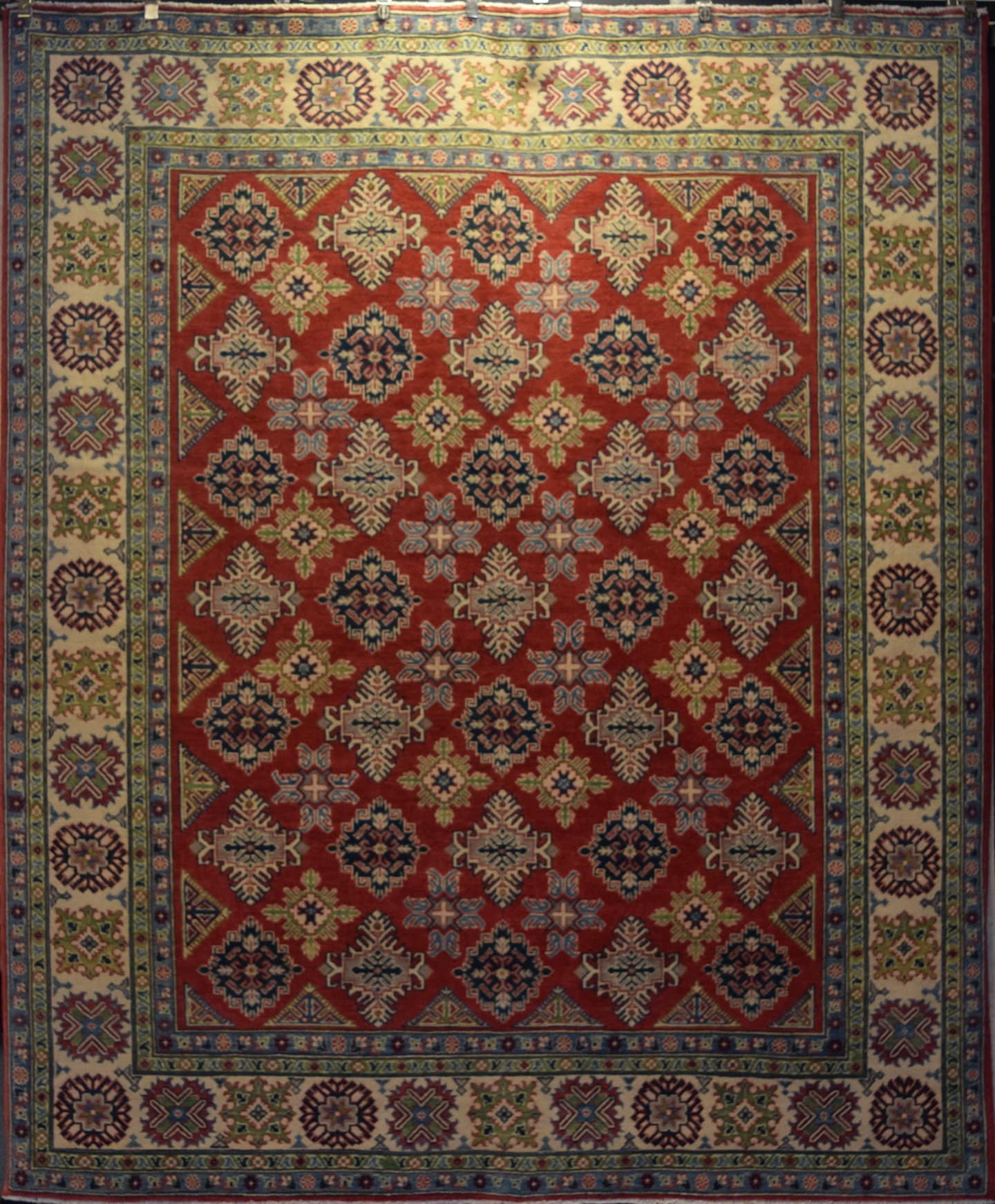 Beautiful Hand Knotted One Of The Kind Oriental Rugs Kazak Turkman Size 8 2 X 9 11 Ft