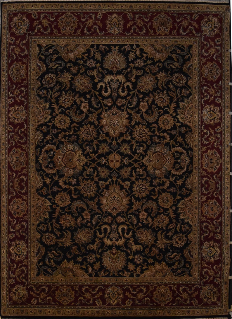 Beautiful Hand Knotted One Of The Kind Oriental Rugs Jaipur Size 8 9 X 11 10 Ft 31718