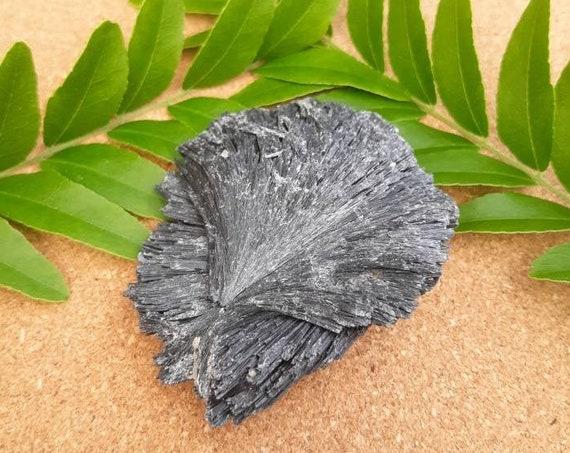 Black Kyanite, Kyanite Crystal, Black Crystal, Chakra Crystal, Chakra Stone, Unique Gift, Natural, Black, Sale, Handmade, Meditation, Yoga
