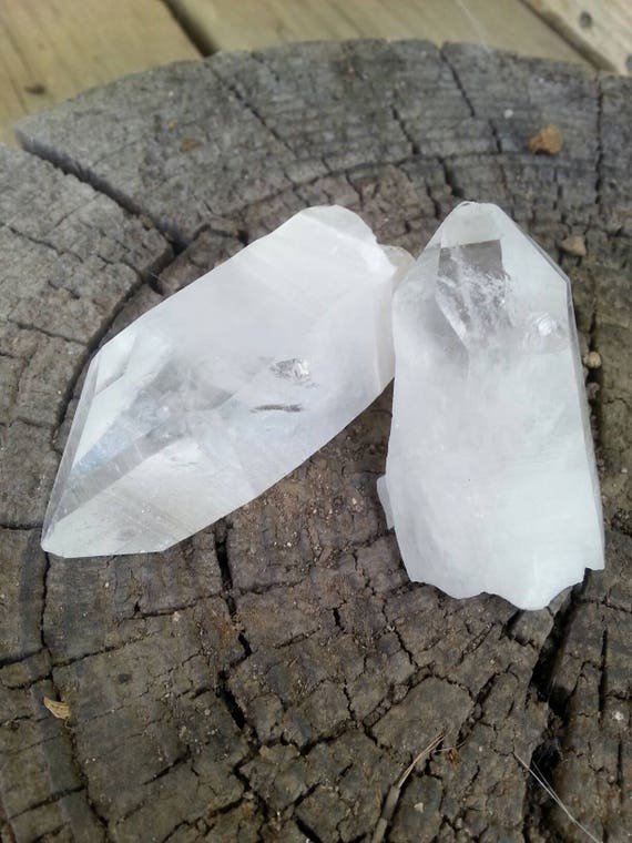 Quartz/ Crystal Set/ Crystals/ Quartz Crystal/ Gift/ Healing/ White stone/ Clear Quartz/ Quartz Point/ Crystal Point/ Craft Supplies