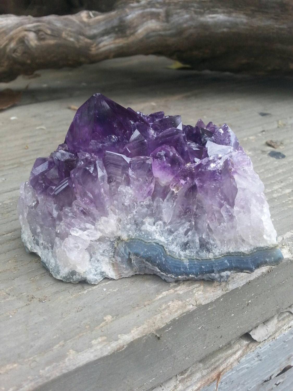 Amethyst Geode Purple Crystal Terrarium Supplies Craft Unique Gift Sleeping Home Decor Purple Amethyst Spiritual