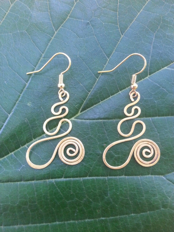Wire Earrings Handmade - WIRE Center •