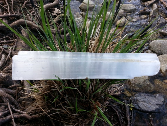 Selenite Wand/ Raw Selenite/ Home Decor/ SELENITE/ Protection/ Crystals/ Crystal Wand/ Healing/ Yoga/ Meditation/ Cleansing/ Unique Gift