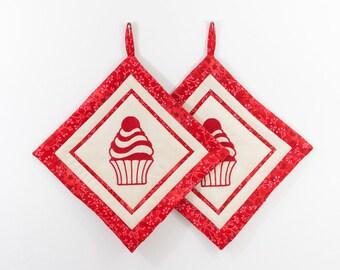 Cupcake Topflappen Etsy