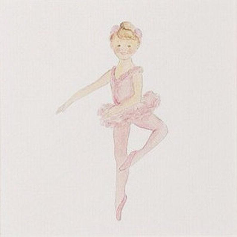 Dance Print Baby /& Kids Art Children/'s Decor Children/'s Prints Pink Ballerina Framed Print Ballerina Decor