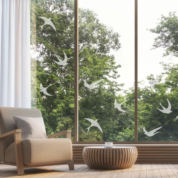 conservatories 18 bird stickers for windows glass houses for Birds