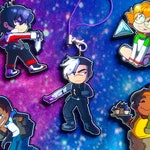 Space Kids 2 Inch Charms