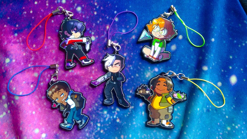 Space Kids 2 Inch Charms image 0