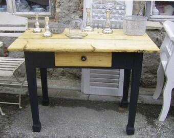 "Antique Table ""Graphite"""