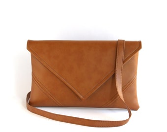 Small Crossbody Bag Vegan Leather Crossbody Purse Brown Crossbody Bag Small Cross  Body Purse Vegan Bag Unique Gifts For Women b5dc461f4af7b