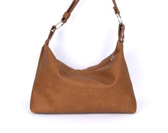 Boho Shoulder Bag, Leather Shoulder Bag, Vegan Gift, Crossbody bags For Women, Medium Crossbody Bag, Zipper Crossbody Bag, Shoulder Bag