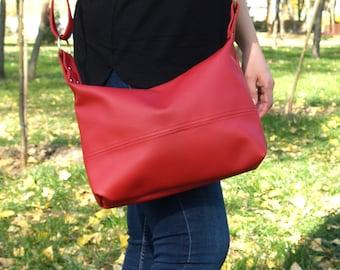 Medium Crossbody Bag, Cross Body Bags, Crossbody Bag, Crossbody Bags For Woman, Custom Leather Crossbody, Faux Leather Crossbody Bag