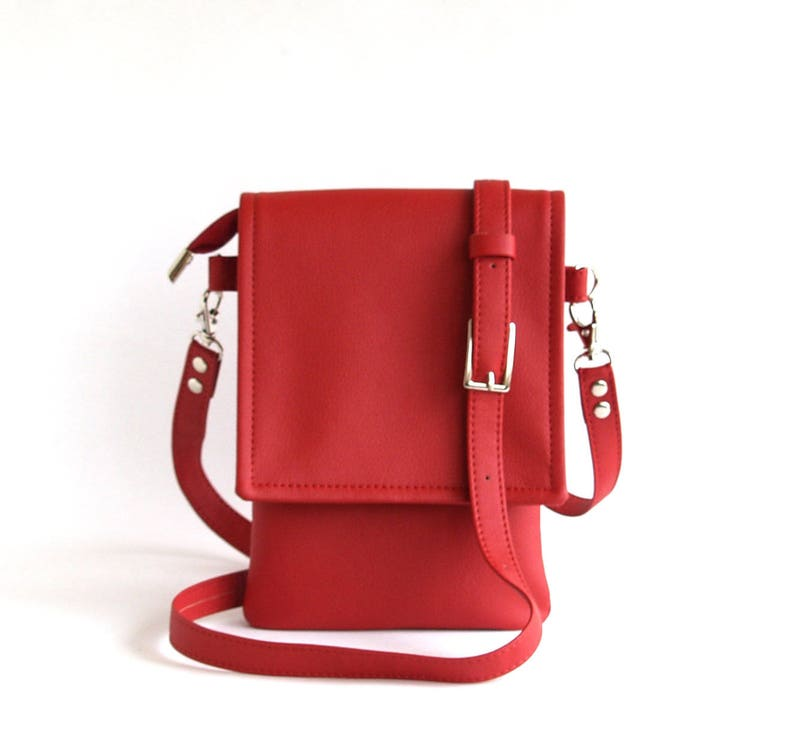 Small Crossbody Bag Womens Gift For Her Red Crossbody Phone Case Iphone  Crossbod... Small Crossbody Bag Womens Gift For Her Red Crossbody Phone  Case Iphone ... db7f170c57bdb