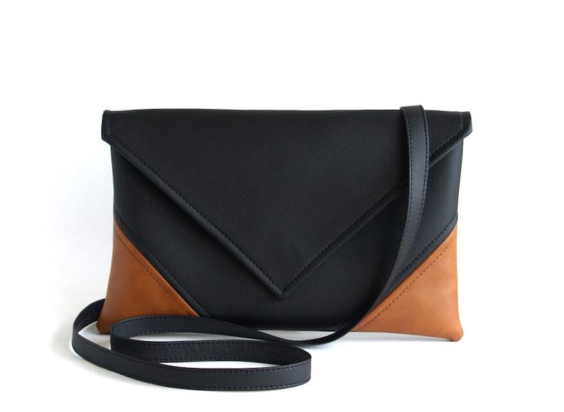 a72eaf42ea9c Unique Gifts For Women Vegan Leather Cross Body Bag Black