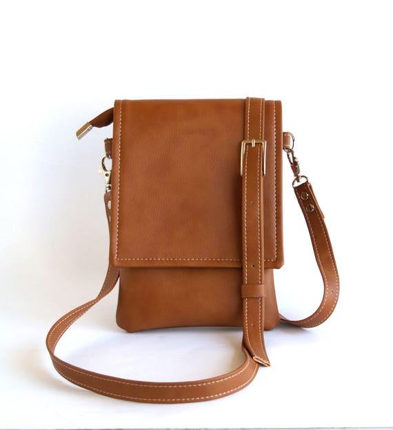 e7acfef01e3b Brown Crossbody Bag Unique Gifts For Women Vegan Leather Bag