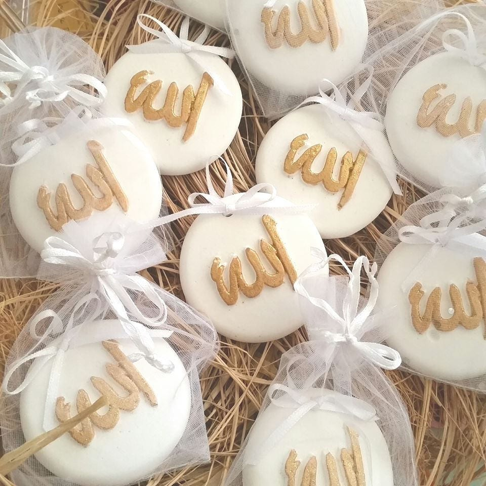 10 psc.Scented stone İslamic symbol İslamic gift New Baby