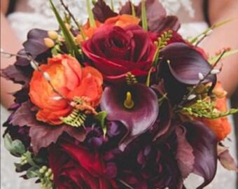Fall wedding bouquet | Etsy