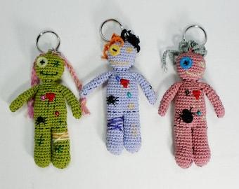 Voodoo Doll Keychain Etsy