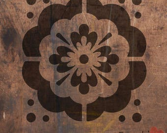 Tile pattern decal etsy