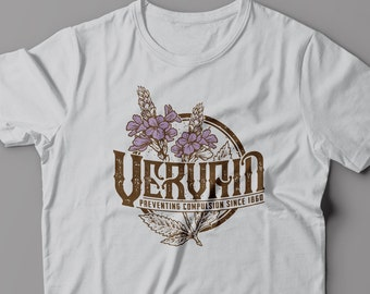 Vervain - Preventing Compulsion - Vampire Diaries - Women's T-Shirt.  Available in Silver