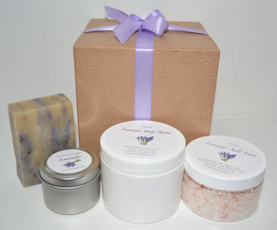 Lavender Spa Gift Set Christmas Employee Gifts